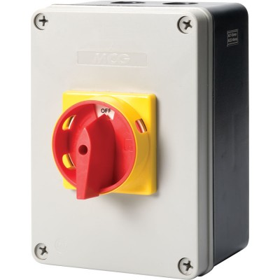 Enclosed 3 Pole Disconnect Switch