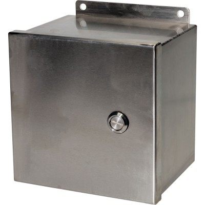 S-SS Series NEMA 4x Stainless Steel Enclosure with Hinged Cover