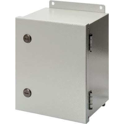 S Series NEMA 4-12 Metal Enclosure with Hinged Cover