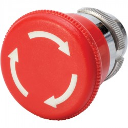 Control Station Mushroom Head Button