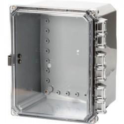 NEMA 4x Poly Enclosure with Clear Door