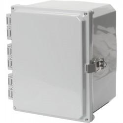 NEMA 4x Poly Enclosure with Opaque Door