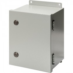 S Series NEMA 4-12 Metal Enclosure with Hinged Cover